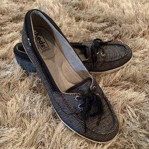 KEDS Black & White Ortholite Shoes